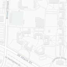 Duke East Campus Map on